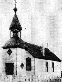 The first parish building